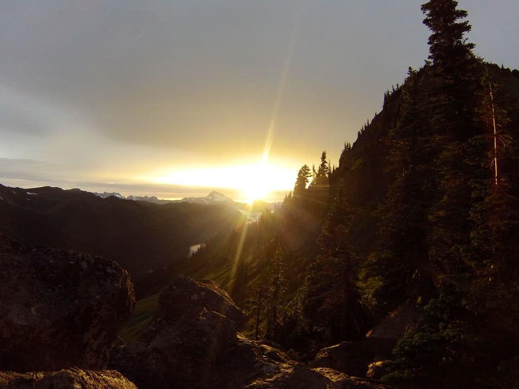 Before Sunset Near White Pass