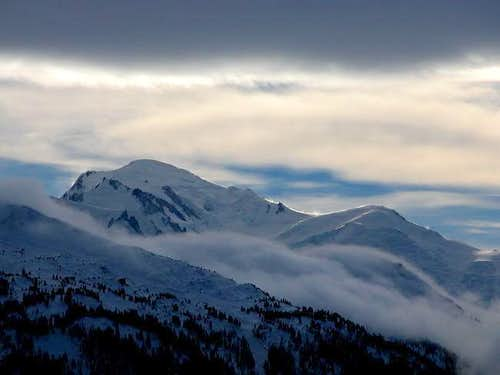 Mont-Blanc from Finhaut...