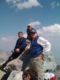Middle Teton Summit Pose