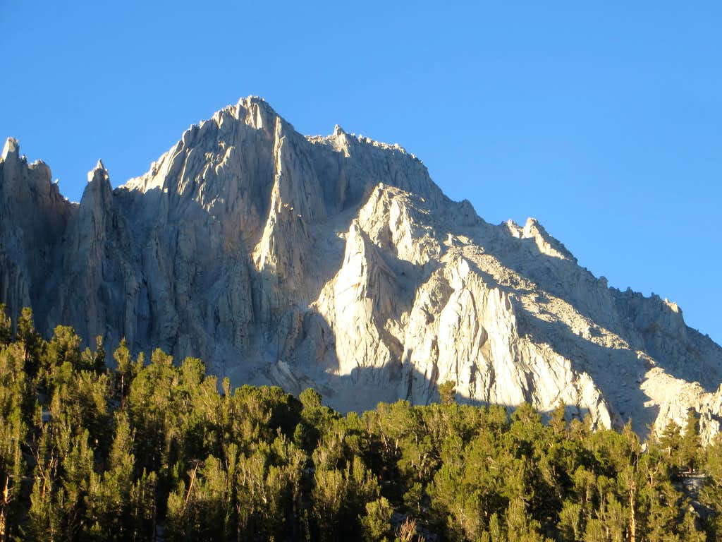 University Peak from Kearsage Pass Trail