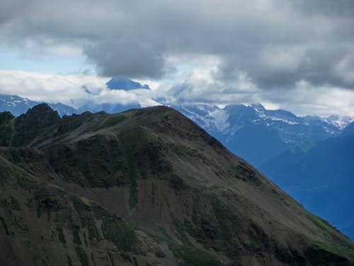 Toward Otztaler Alps