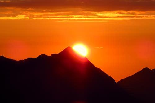 Sunrise over Brienzer Rothorn