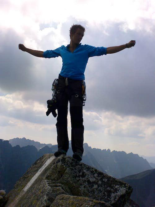 Summit of Volia Veza