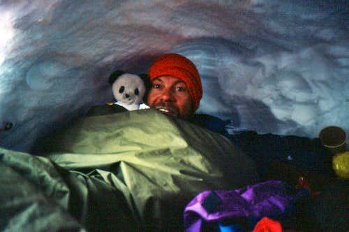 Broad Peak - snowcave