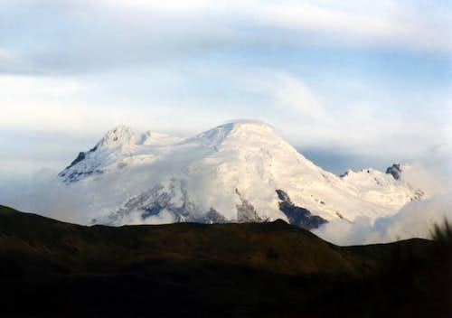 Antisana as seen from El...