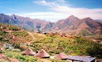 Malealea Lesotho, May 1998