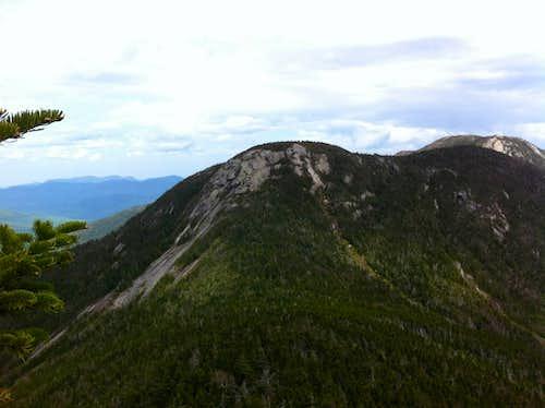 Scramble up to Mt Saddleback