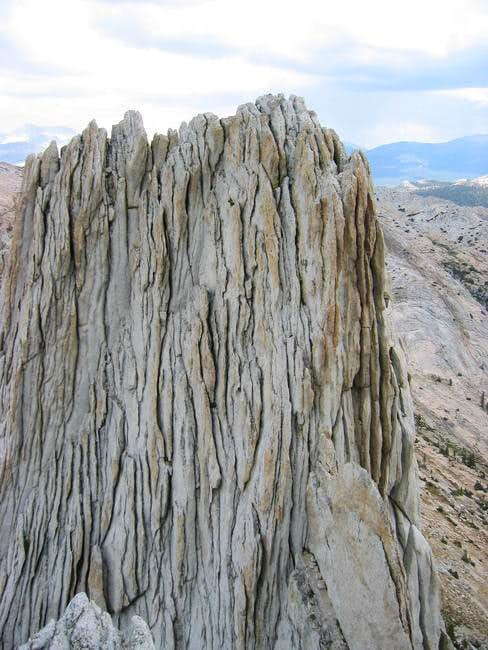 View of Matthes Crest\'s north...