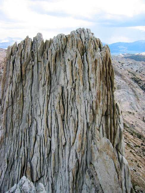 View of Matthes Crest's north...