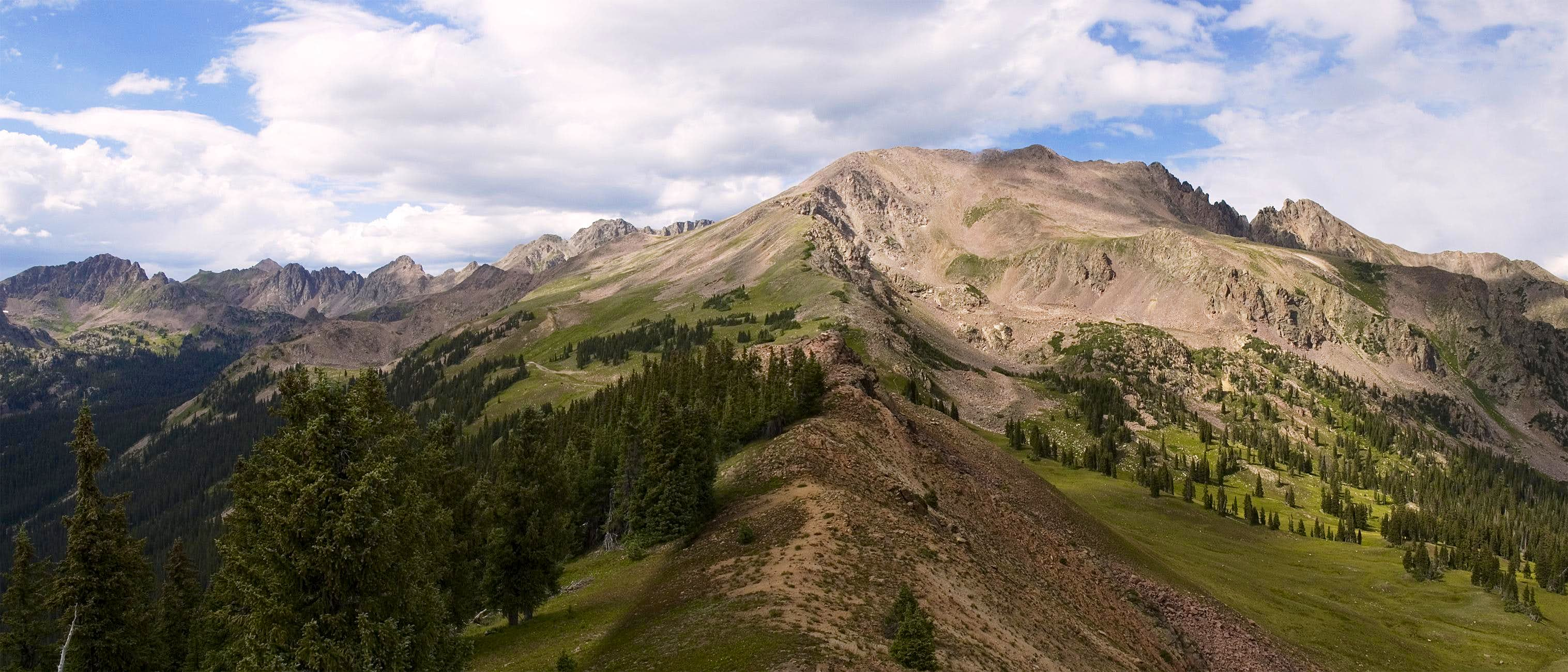 Frisco to Vail via Eccles and Red Buffalo Pass