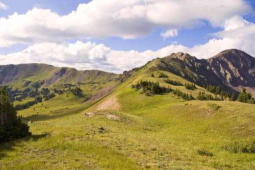 A View from Red Buffalo Pass