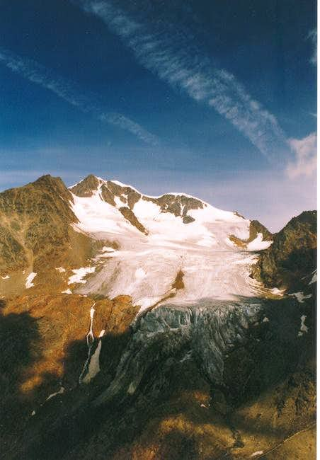 View to Wildspitze and the...