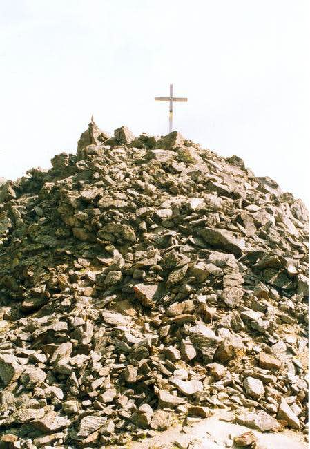 Summit with the Cross.