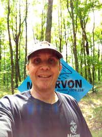 U.S. Highpoint #3 - Mount Arvon (08-20-13)