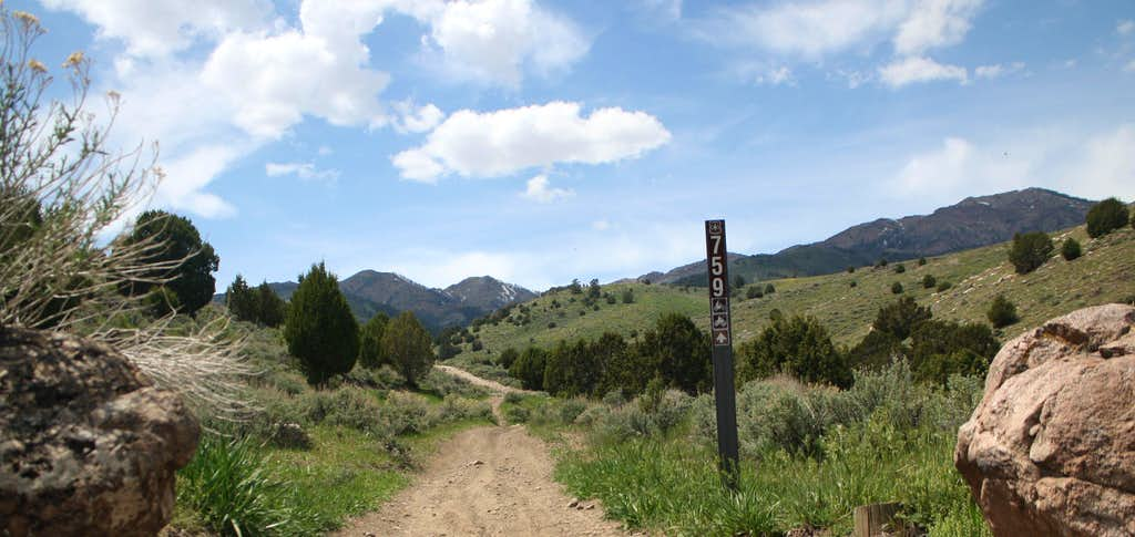 West Canyon Trail head