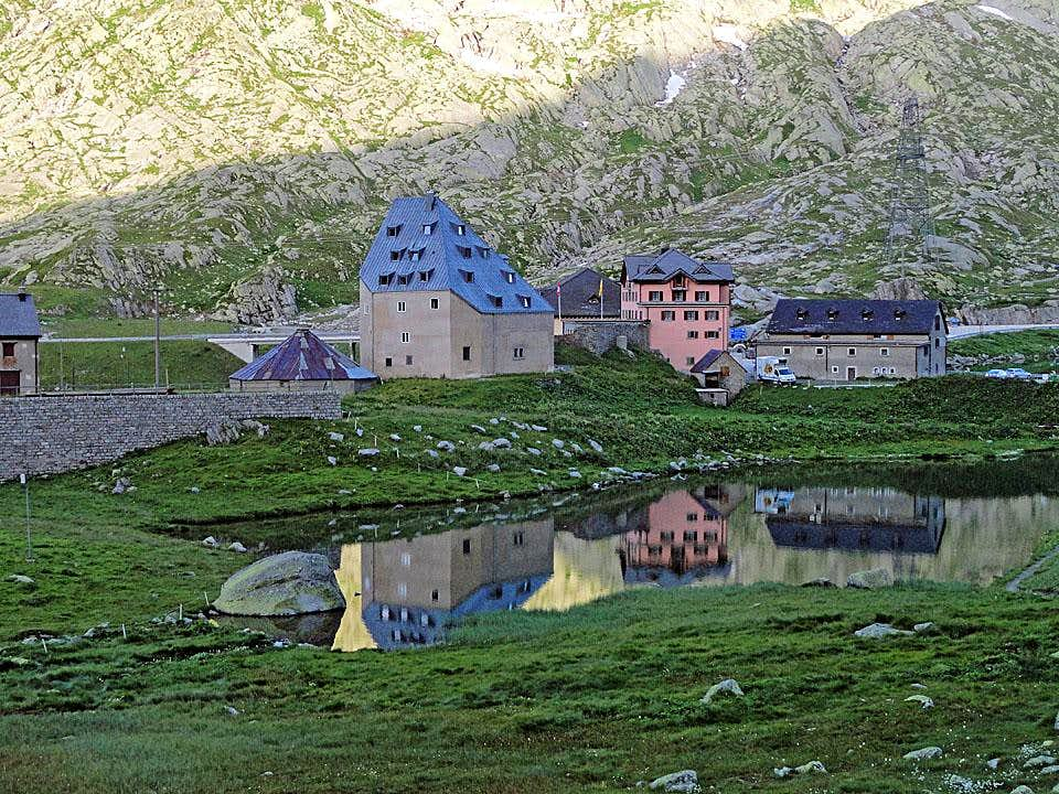 morning on st gotthard pass photos diagrams topos. Black Bedroom Furniture Sets. Home Design Ideas