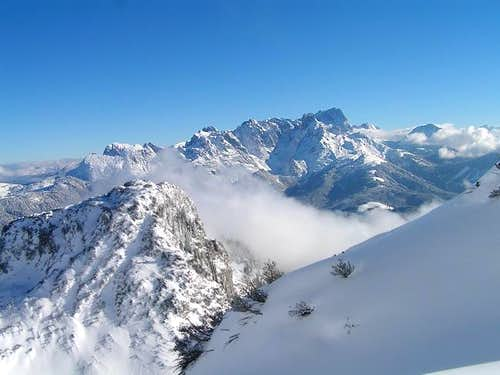 Overview of the Dachstein...