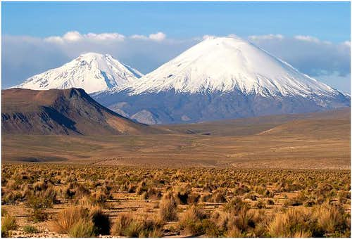 Las Payachatas (Parinacota to...
