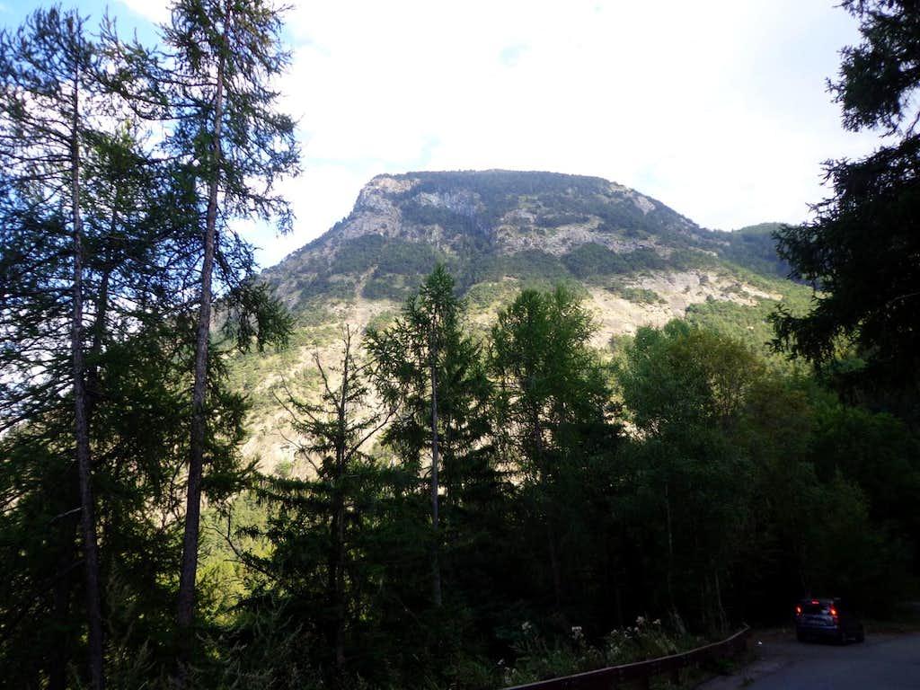 Mont Saint Julien Flat Top (1834m)  from West 2013