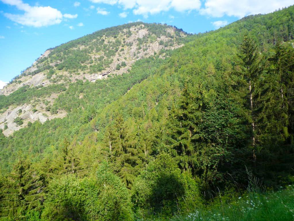 Mont Saint Julien East Slope from Pieiller Walloon 2013