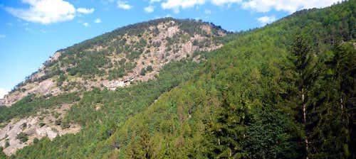 Mont Saint Julien East Face or Standard Route 2013