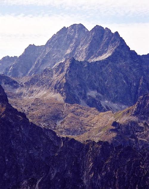 Gerlach massif from north