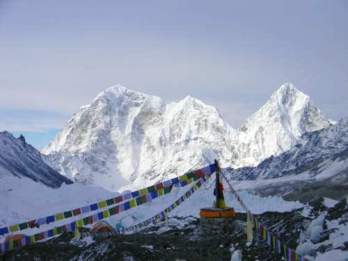 Cholatse from the Everest Basecamp