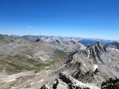 Spiller Canyon and Whorl Peak