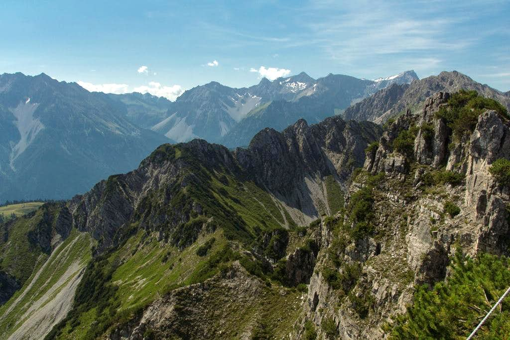 Schesaplana as seen from Schillerkopf