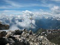 The top of Grand Chavalard