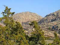 Twin Rocks Mountain from the...