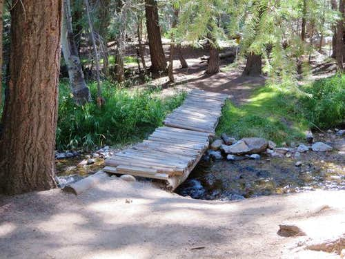 Second Footbridge to Horse Creek Canyon Trail