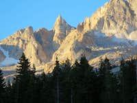 FIrst View of Matterhorn Peak