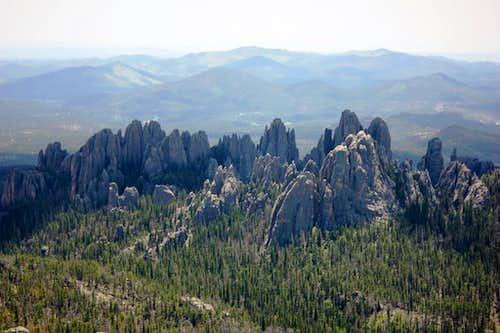 Needles from Harney Peak