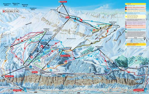 Schilthorn Map
