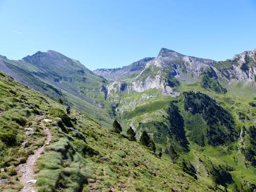 Hiking from Ens