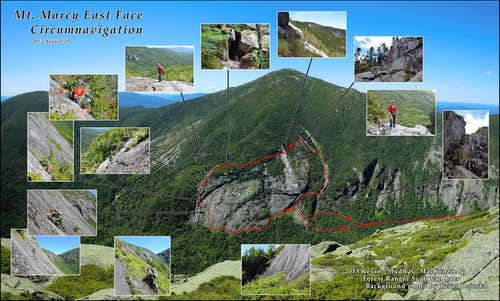 Mount Marcy East Face: A Climb and Circumnavigation with an Adirondack Forest Ranger