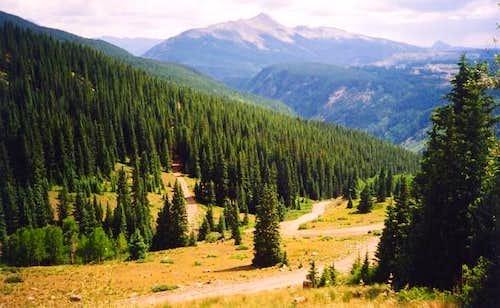 July 4, 2002 Snowdon Peak...