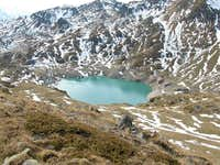 The Lake of Fully from Col de...