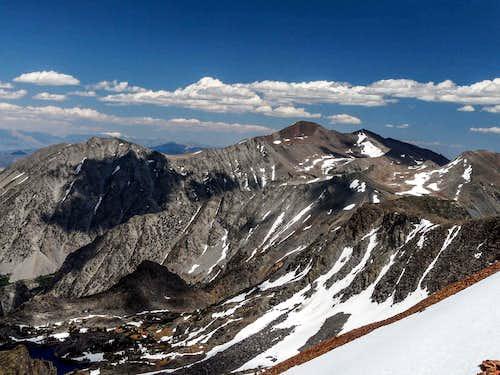 Mt. Warren from the crest