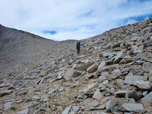 Nearing Ridgeline
