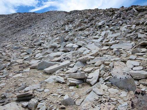 Broken Rock and Talus