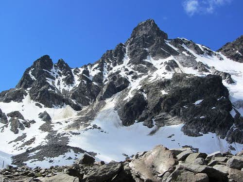 Großlitzner  (3109m) from the north
