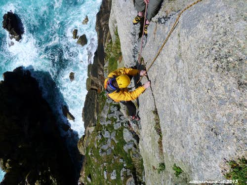 Cornwall International Trad Climb Meet, May 2013