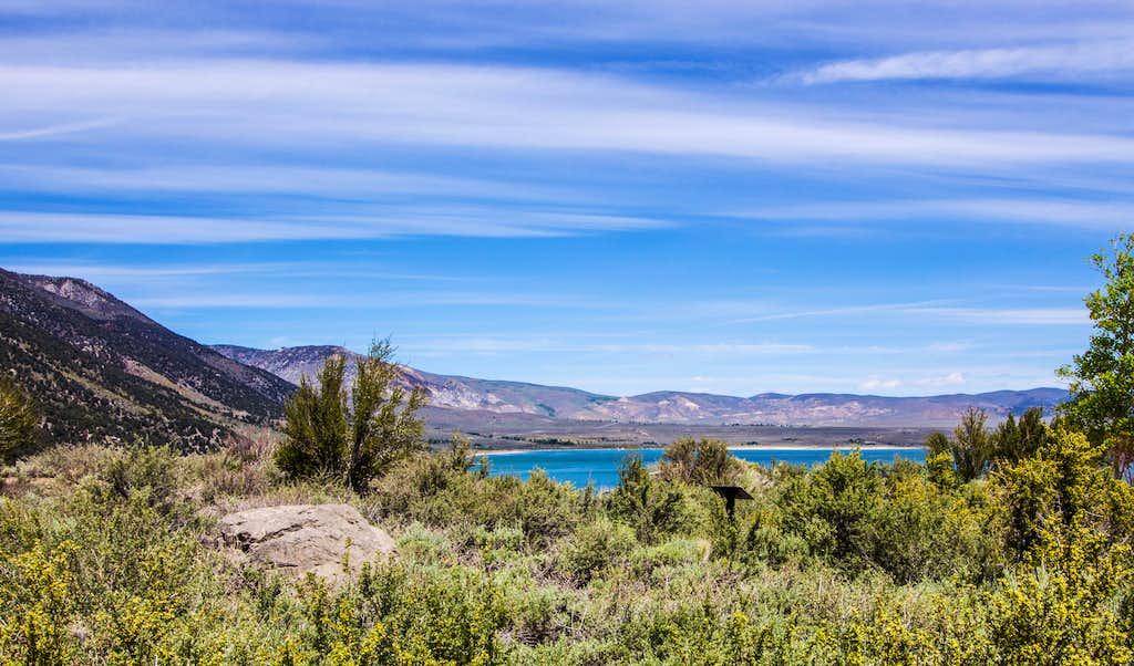 Beautiful view of Mono Lake