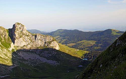 On the SW ridge of Gantrisch