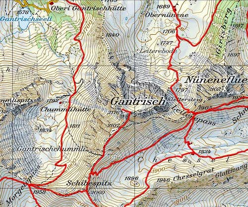 Gantrisch map