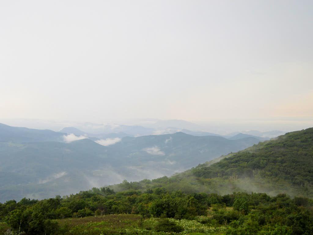 View towards Iron Mountain