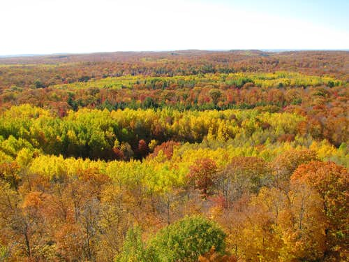 View from Lookout Mountain, WI