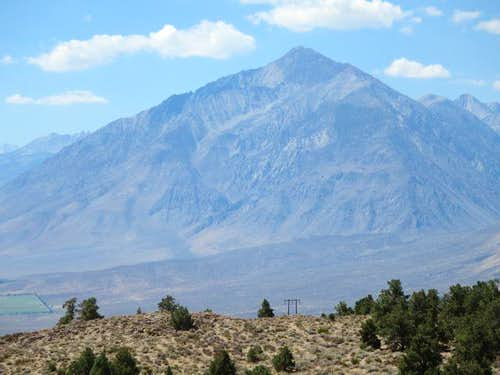 Mt Tom from 395